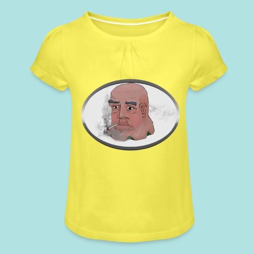 Smokey JO - Girl's T-Shirt with Ruffles