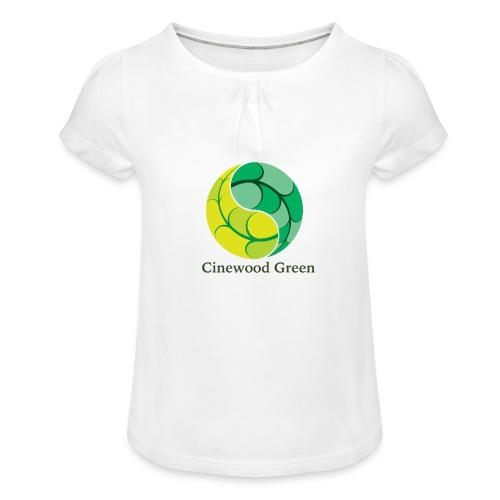 Cinewood Green - Girl's T-Shirt with Ruffles