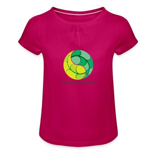 Cinewood Green - Girl's T-Shirt with Ruffles