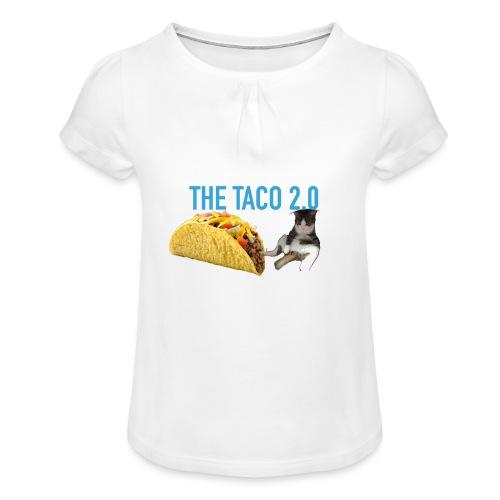 IMG 2232 - T-shirt med rynkning flicka