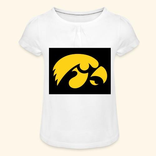 YellowHawk shirt - Meisjes-T-shirt met plooien