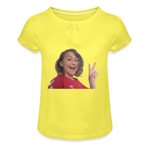 StormyBoy Original - Pige T-shirt med flæser