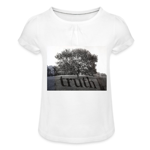 Truth - Girl's T-Shirt with Ruffles