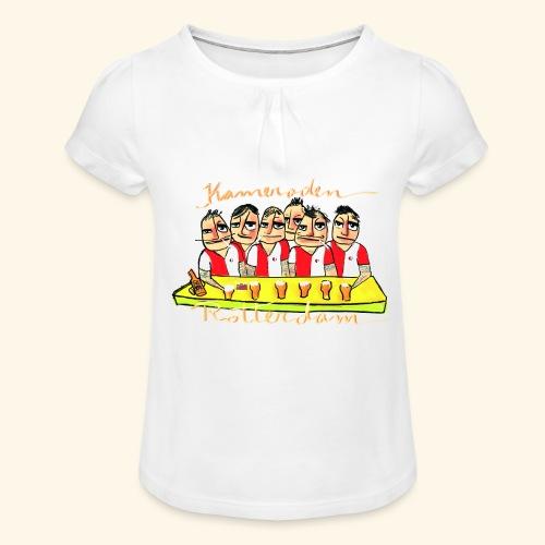 Kameraden Feyenoord - Meisjes-T-shirt met plooien