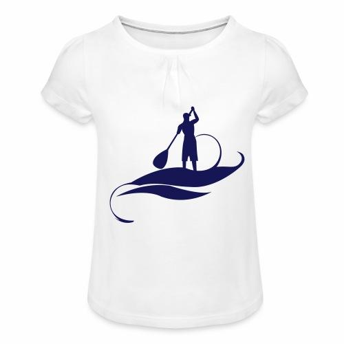 Paddle Man - T-shirt à fronces au col Fille
