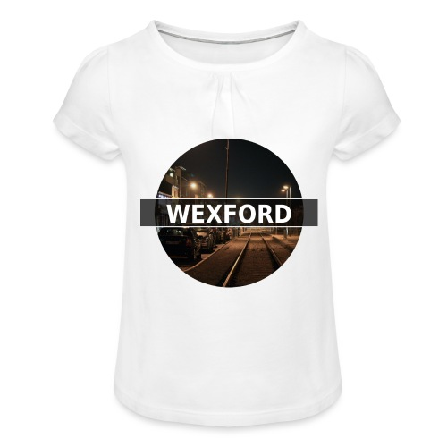 Wexford - Girl's T-Shirt with Ruffles