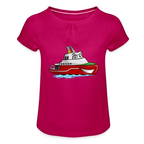 Boaty McBoatface - Girl's T-Shirt with Ruffles