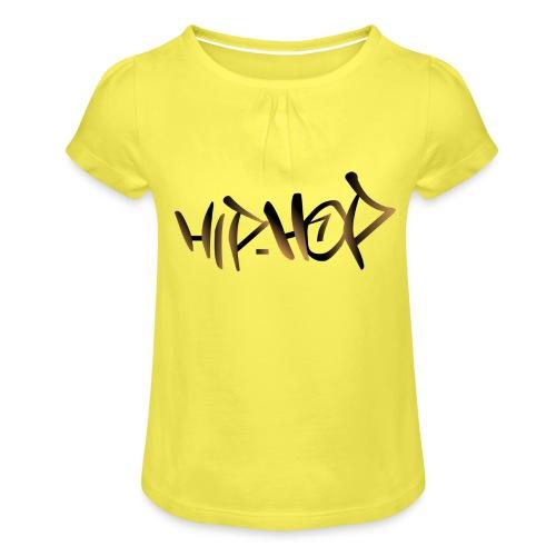 HIP HOP - Girl's T-Shirt with Ruffles