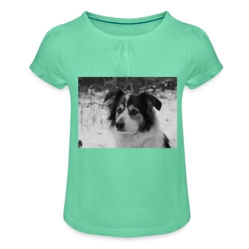 Skippy Winter - Mädchen-T-Shirt mit Raffungen
