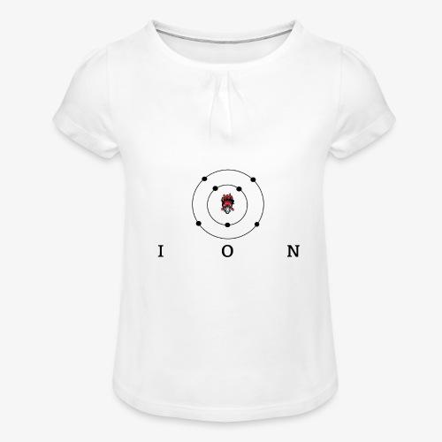 logo ION - T-shirt à fronces au col Fille