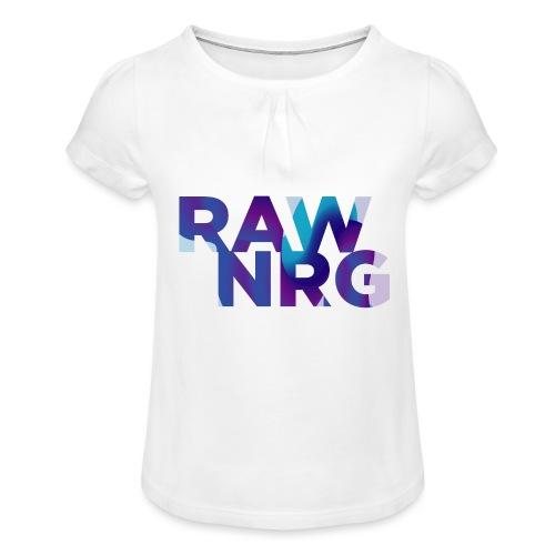 Artboard 1 copy 7 4x - Girl's T-Shirt with Ruffles