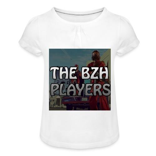 T-Shirt The BloYd - T-shirt à fronces au col Fille