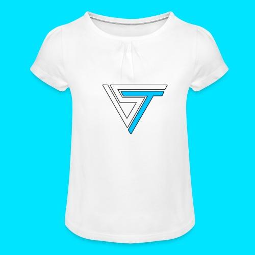 somsteveel kleding en accessoires - Meisjes-T-shirt met plooien