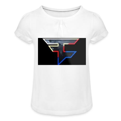 FAZEDREAM - Girl's T-Shirt with Ruffles