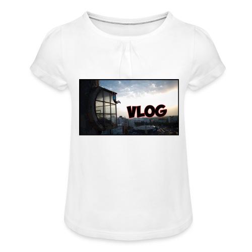 Vlog - Girl's T-Shirt with Ruffles