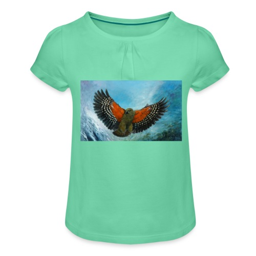 123supersurge - Girl's T-Shirt with Ruffles
