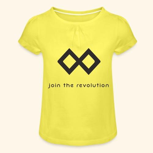 TenX - Mädchen-T-Shirt mit Raffungen