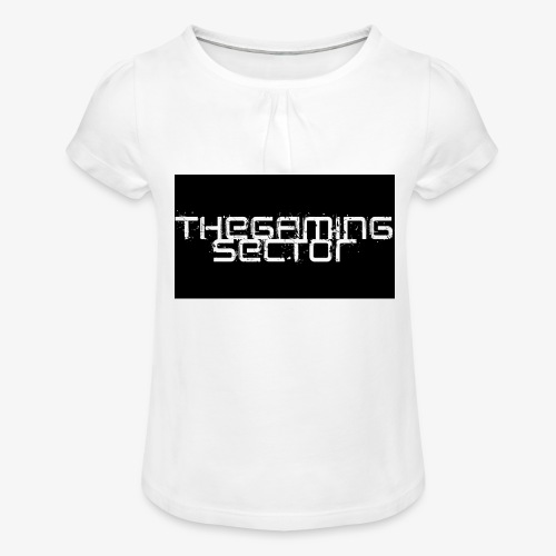 TheGamingSector Merchandise - Girl's T-Shirt with Ruffles