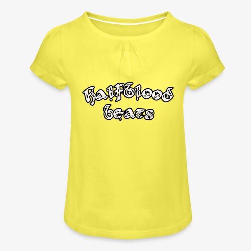 WITTE BRIEVEN - Meisjes-T-shirt met plooien