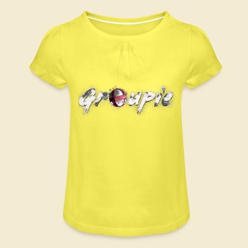 Radball | Cycle Ball Groupie - Mädchen-T-Shirt mit Raffungen