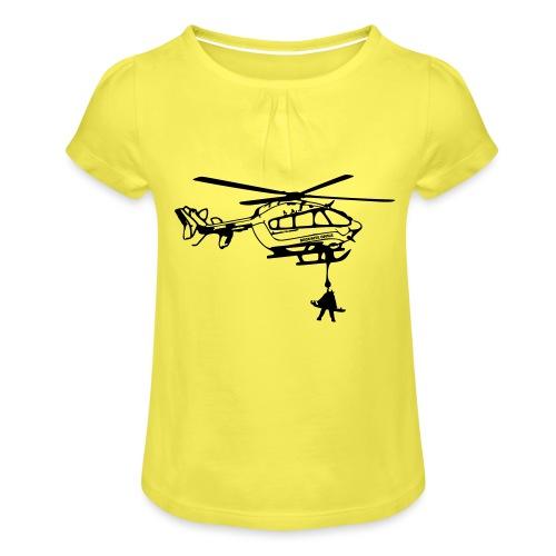 Dragon Securite Civile - T-shirt à fronces au col Fille