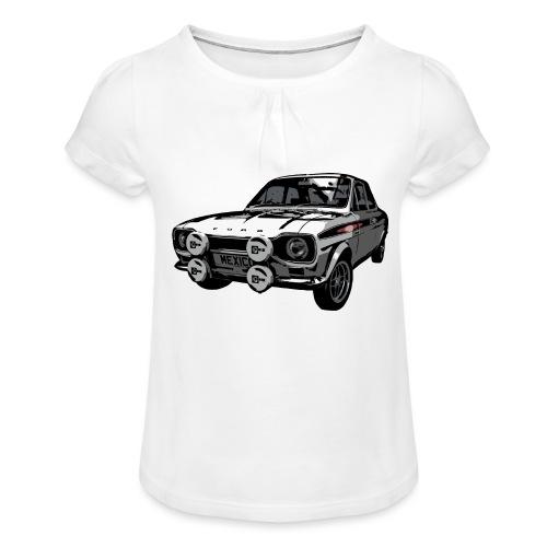 Mk1 Escort - Girl's T-Shirt with Ruffles