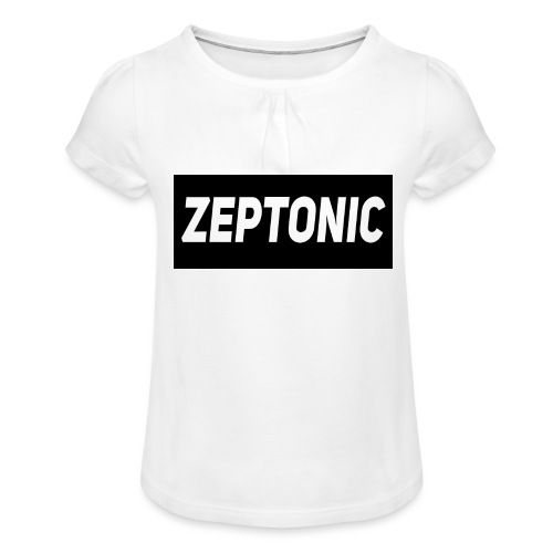 Zeptonic Teenage T-Shirt - Girl's T-Shirt with Ruffles