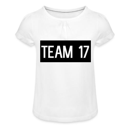 Team17 - Girl's T-Shirt with Ruffles
