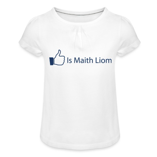 like nobg - Girl's T-Shirt with Ruffles