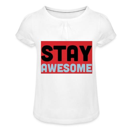 425AEEFD 7DFC 4027 B818 49FD9A7CE93D - Girl's T-Shirt with Ruffles