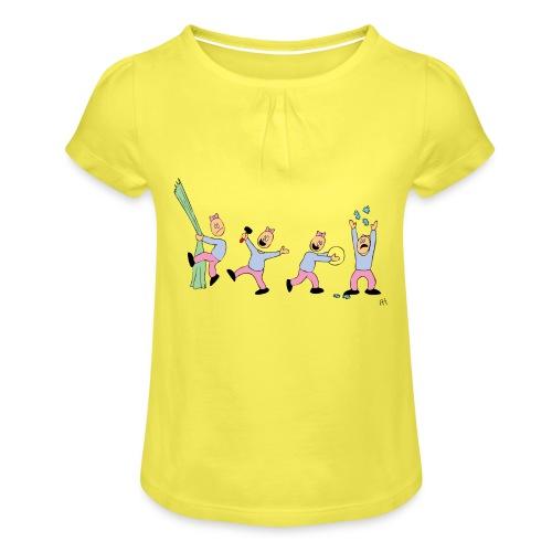 toern babybody - Jente-T-skjorte med frynser