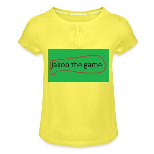jakobthegame - Pige T-shirt med flæser