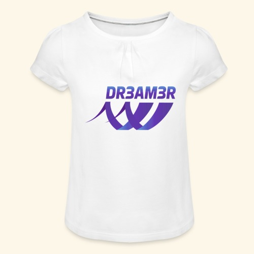 DR3AM3R - Tyttöjen t-paita, jossa rypytyksiä