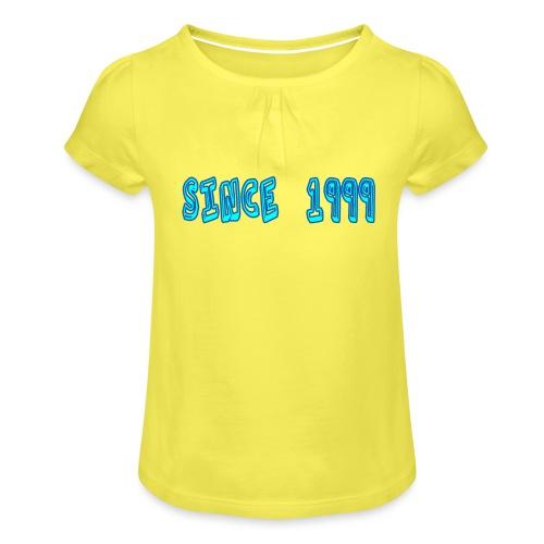 Since 1999 - Tyttöjen t-paita, jossa rypytyksiä
