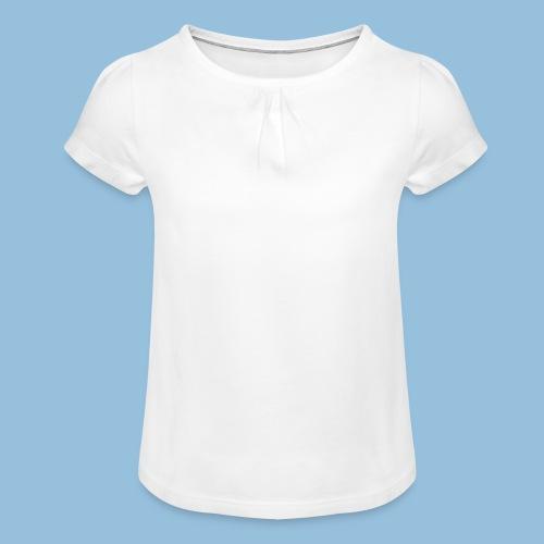 RollModel - Meisjes-T-shirt met plooien
