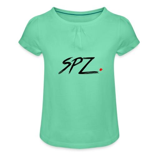 SPZ Grafitti - Jente-T-skjorte med frynser