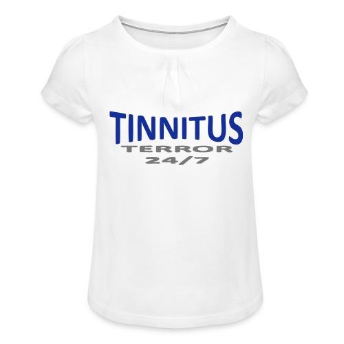 terror - Jente-T-skjorte med frynser