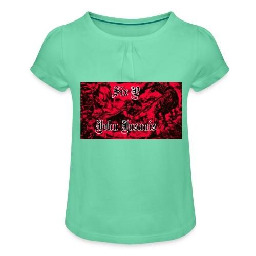 Six P & John Insanis termosmuki - Tyttöjen t-paita, jossa rypytyksiä