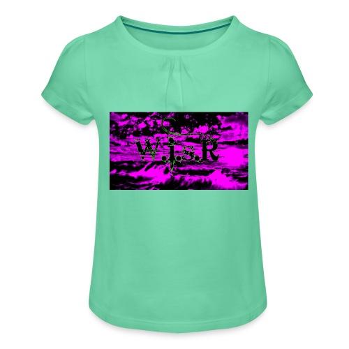 wisr valuva taivas Naisten-T Paita - Tyttöjen t-paita, jossa rypytyksiä
