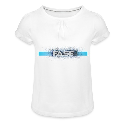 FASE - Girl's T-Shirt with Ruffles