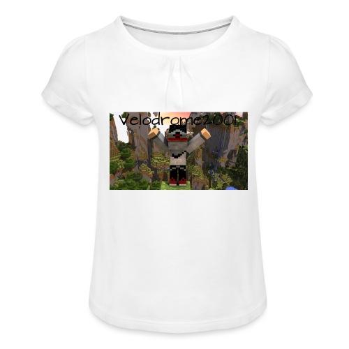 Velodrome2001 Tröja! - T-shirt med rynkning flicka