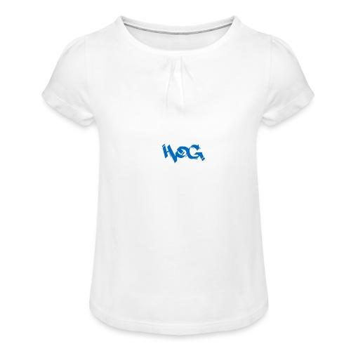 hog - Camiseta para niña con drapeado