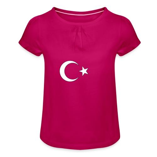 Turquie - T-shirt à fronces au col Fille