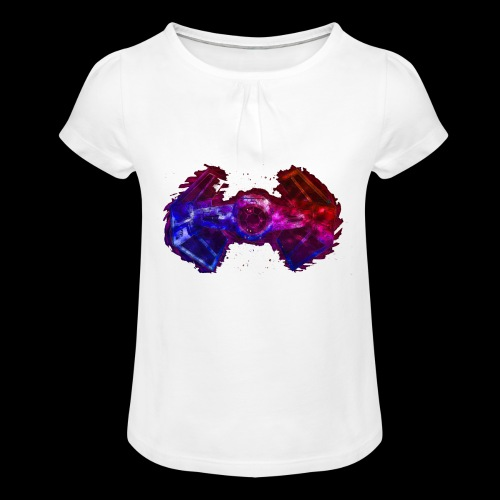 Tie Fighter - Girl's T-Shirt with Ruffles