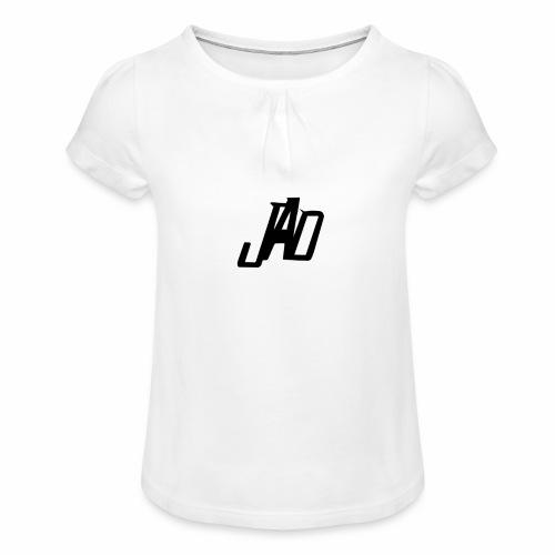Jenna Adler Designs - T-shirt med rynkning flicka