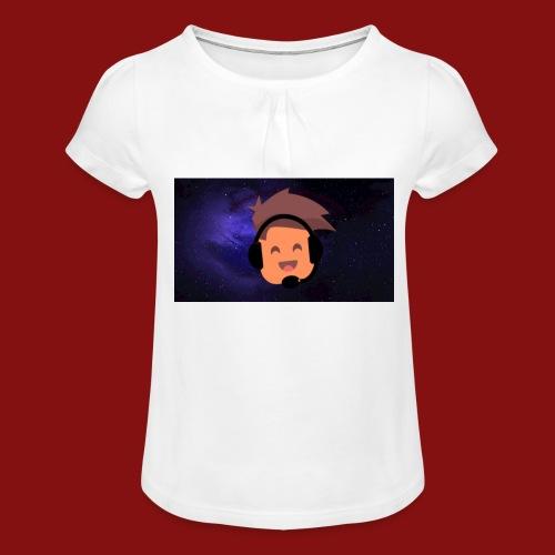 ProfilBild RymdBakgrund - T-shirt med rynkning flicka