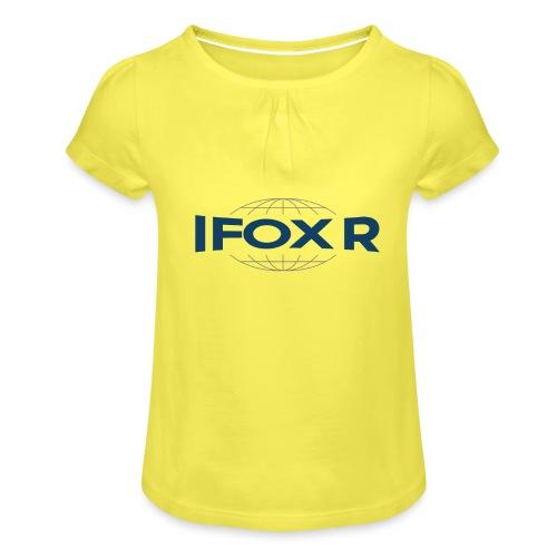 IFOX MUGG - T-shirt med rynkning flicka