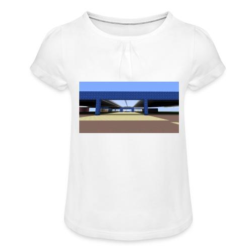 2017 04 05 19 06 09 - T-shirt à fronces au col Fille