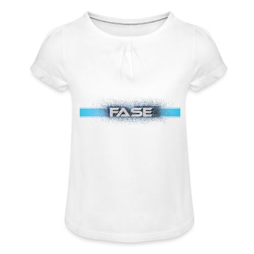 FASE - Girl's T-Shirt with Ruffles