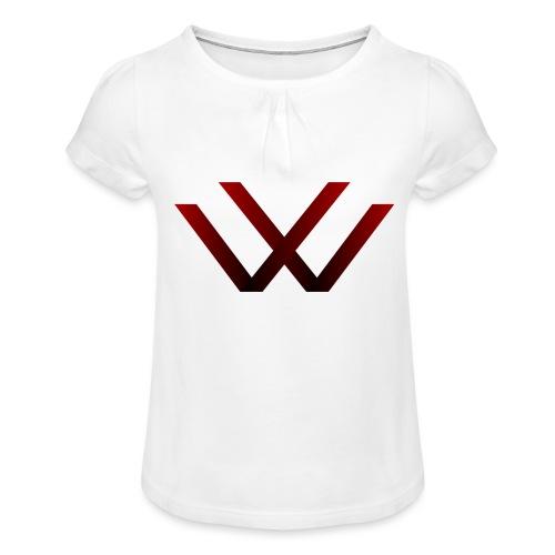 English walaker design - Girl's T-Shirt with Ruffles